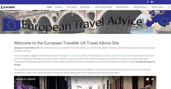 European Travel Advice